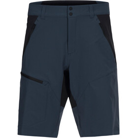 Peak Performance M's Light Softshell Carbon Shorts Blue Steel